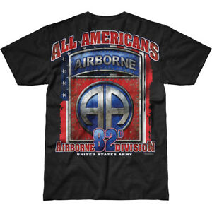 7.62 DESIGN US ARMY 82ND AIRBORNE ALL AMERICANS BATTLESPACE T-SHIRT ... 0ff078411