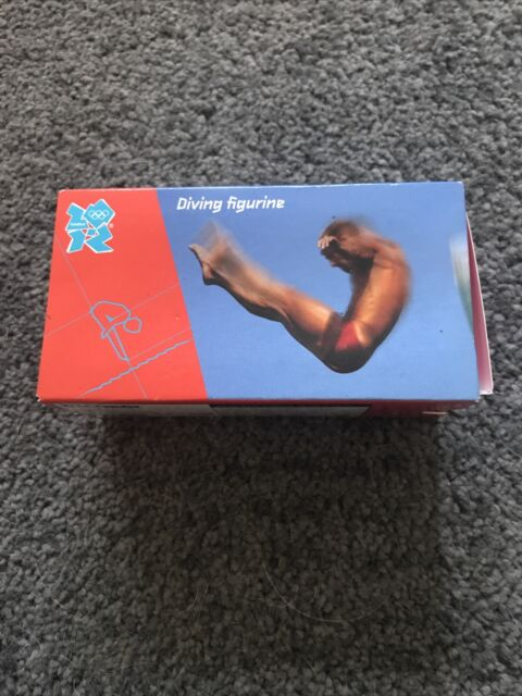Corgi; London 2012 Olympic Figurine; #12 Diving; Excellent Boxed
