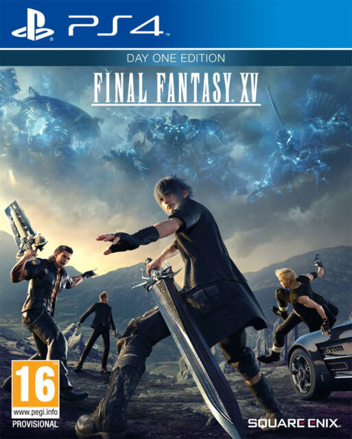 Final Fantasy XV - Day One Edition (PS4)  BRAND NEW AND SEALED - QUICK DISPATCH