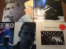 Rainhard Fendrich [5 LP Vinyl] Voller Mond + Wollte Nie + Zeit + LIVE + Land
