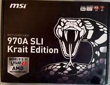 MSI 970A SLI KRAIT EDITION, AM3+, DDR3, AMD ATX Motherboard **NEW**