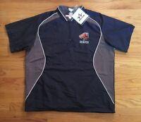 Alleson Athletic Men's L Denver Dragons 1/4 Zip Pullover Baseball Jacket