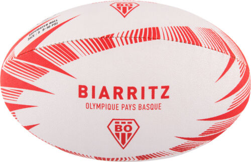 Gilbert Rugby French Club Teams Biarritz Supporter Ball Size 5
