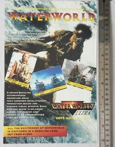 Waterworld-Movie-RARE-Print-Advertisement