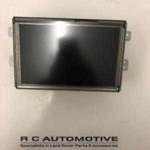 Range Rover Evoque Navigation Display