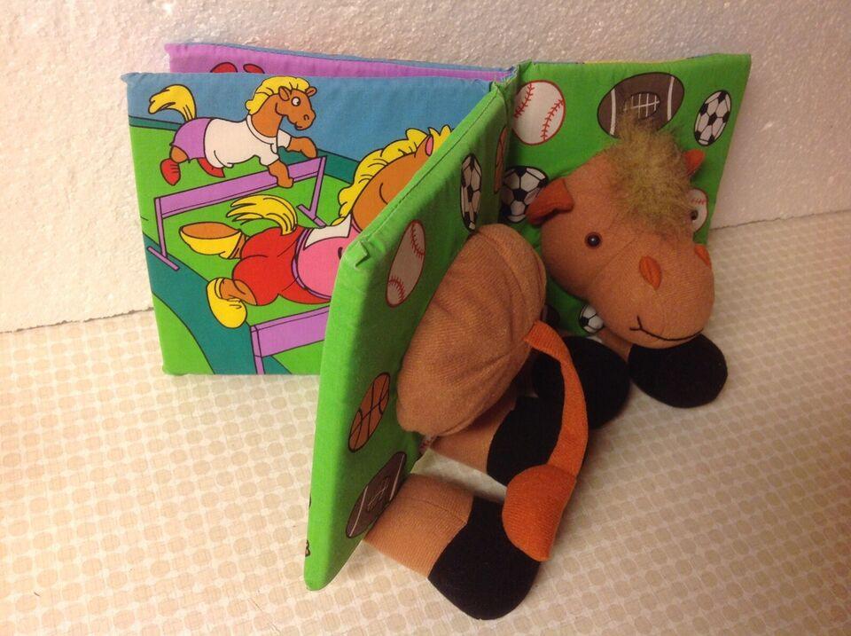Ældre store Jolly Toys Stof bøger Stof bog med dyr, Jolly