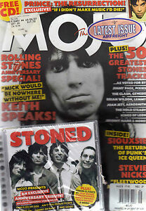 Details about KEITH RICHARDS / ROLLING STONES - MOJO #166-UK MUSIC  MAG+CD-PRINCE-DEF LEPPARD