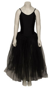 NERO-CIGNO-Romantico-Vestito-per-Halloween-balletto-danza-tutu-Costume-da-KATZ