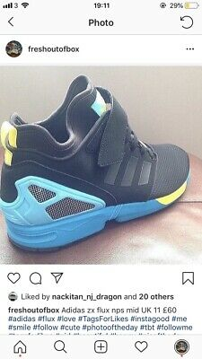 Adidas ZX FLUX NPS MID UK 11 NEUF   eBay