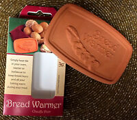 Ceramic Bread Warmer Keeps Bread, Muffins, Buns, Bagels, Cakes & Cookies Warm