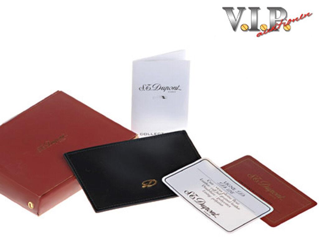 мужской кошелек St Dupont Kreditkartenetui Visitenkartenetui Kartenetui Leder Etui Card Holder