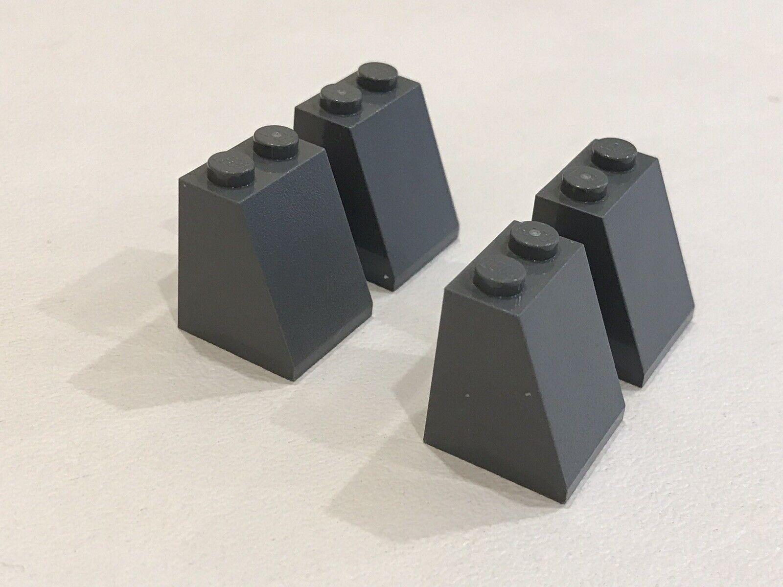 LEGO 20 x Schrägstein rotbraun Reddish Brown Slope 65 2x2x2 Bottom Tube 3678b