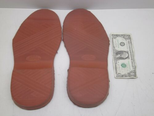 SEE PHOTOS FREE SH NEW NOS GOOD YEAR RED SHOE SOLES SOFTY-FLEX SIZE 10 11 12 13