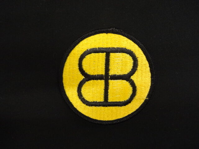 Buckaroo Banzai Team Banzai Yellow BB Cloth Patch (P238)