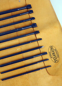 Stone-Carving-Tungsten-Tip-Full-Chisel-Set-with-FREE-Tool-Roll
