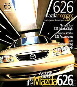 2001 mazda 626 factory brochure 626 lx es lx v6 es v6 ebay ebay