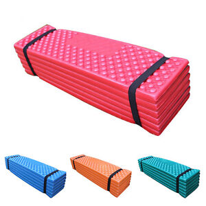 Durable Foam Camping Mat Beach Tent Folding Sleeping Pad Waterproof Mattress