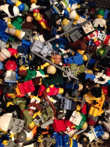 Read Description City Figures Clean Figs People // LEGO 10 Random Mini