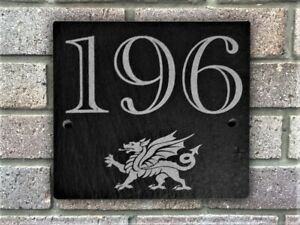 Slate-House-Number-Door-Plaque-Sign-With-a-Welsh-Dragon-Engraved-Wales-Gift