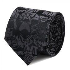 DC Comics Batman Comic Black Tie Men's Tie Free Same Day Shipping New