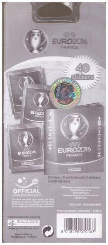 Neuf sous blister EURO 2016 Panini 8 POCHETTES EURO 2016 STICKERS