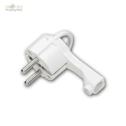 """Protection Contact-Plat-Connecteur /""""WTN-flatplug II/"""" Angle Connecteur à plat 230v//16a"""