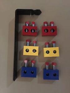 3-Pairs-1-Yellow-1-Red-1-Blue-Torsion-Spring-Repair-Block-amp-Spreader-Tool-Kit