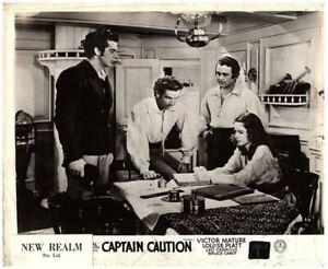 CAPTAIN CAUTION ORIGINAL LOBBY CARD 1940 VICTOR MATURE LOUISE PLATT BRUCE CABOT