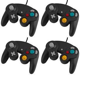 4x-Controller-Gamepad-Joypad-Joystick-fuer-Nintendo-Gamecube-und-Nintendo-Wii