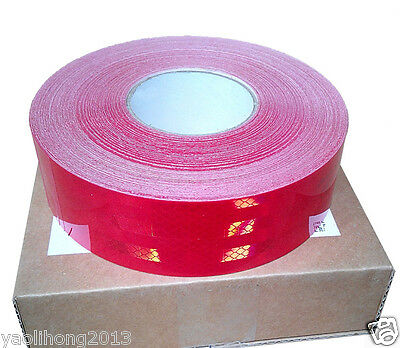 "2""x150' Truck Reflective Conspicuity Tape Safety Trailer red CCC=DOT-C2"