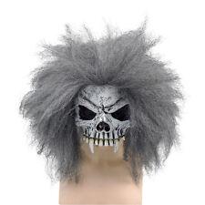 Deluxe TESCHIO MEZZO VISO MASCHERA capelli + Costume Accessorio