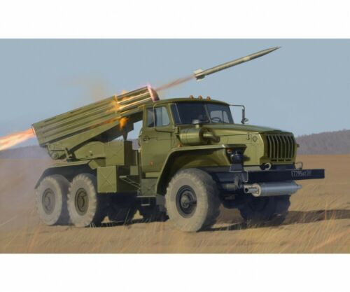 Zvezda 1:35 BM-21 Grad Rocket Launcher