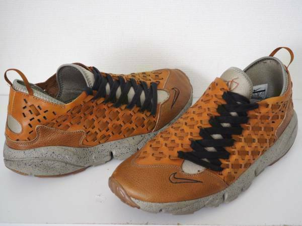 NIKE AIR FOOTSCAPE MOTION Leather Sneakers shoes SIze Hazelnut Size US 9.5