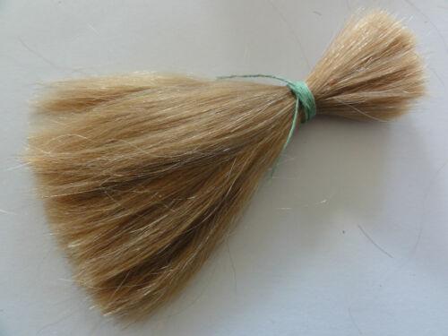 50grammes CHEVEUX NATURELS pour BEBE Réborn-REBORNING 16-20cm Blond clair 20/%