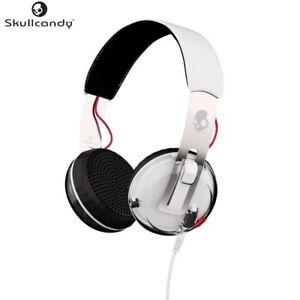 Skullcandy-S5GRHT-472-WHITE-Grind-Headphones-w-TapTech-amp-Mic-Original-Brand-New
