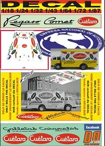 01 DECAL PEGASO COMET 1090 L 1970 CAMPSA