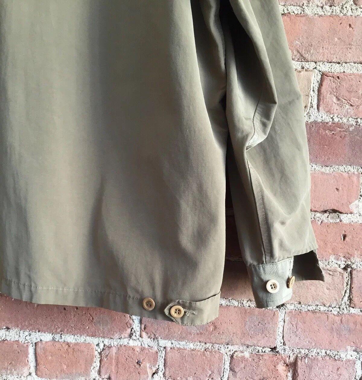 Vintage Katharine Hamnett Men's Jacket, Faille Silklike Material, Sz Large