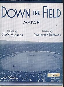 Down-the-Field-March-1930-Yale-Football-Sheet-Music