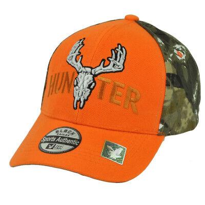 Fanartikel Fein Hunter Zweifarbig Camouflage Orange Tarnfarbe Camping Outdoor Sport Hut Jagd Mild And Mellow