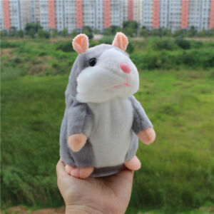 Cute Talking Hamster Mimicry Pet Plush Toy Kids Speak Talking Sound Record Toy