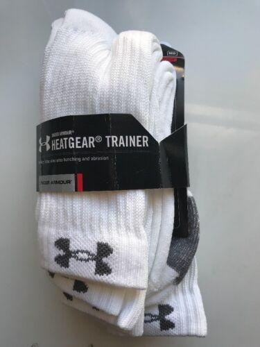 Under Armour Heatgear Trainer Men Socks 4pair MD