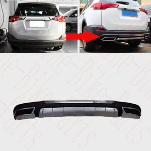 Rear Bumper Cover Textured Compatible with 2013-2015 Toyota RAV-4