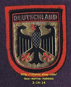 LMH PATCH Woven Badge DEUTSCHLAND Bundesadler GERMANY Federal Eagle ...