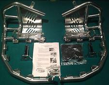 Kawasaki KFX 400 2003–2006 Tusk Foot Peg Nerf Bars w/ Heel Guards