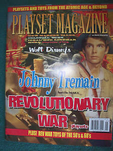 Playset-magazine-39-Johnny-Tremain-and-other-Revolutionary-War-playsets-parts