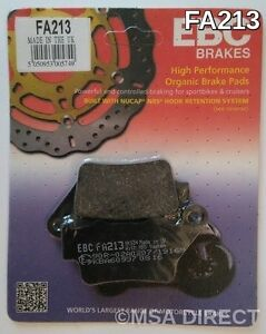 EBC FA213 Organic Replacement Brake Pads for Rear BMW F 800 S 06-10