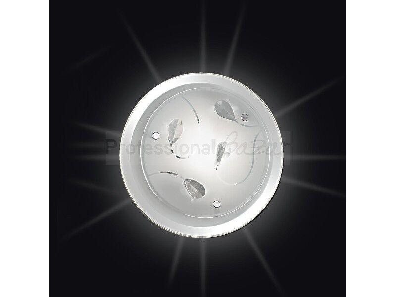 Plafoniere Cristallo E Acciaio : Plafoniera d lampada soffitto parete design moderno