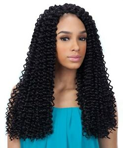 ... about 3X PRE-LOOP WATER WAVE 16 - FREETRESS SYNTHETIC CROCHET BRAIDS