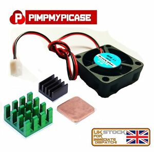 5v-Cooling-Fan-with-Black-Green-and-copper-Heat-Sink-for-Raspberry-pi-3