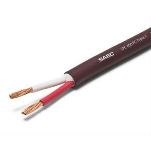 SAEC Speaker Cable Cord Unit:1m(3.28ft) Bulk
